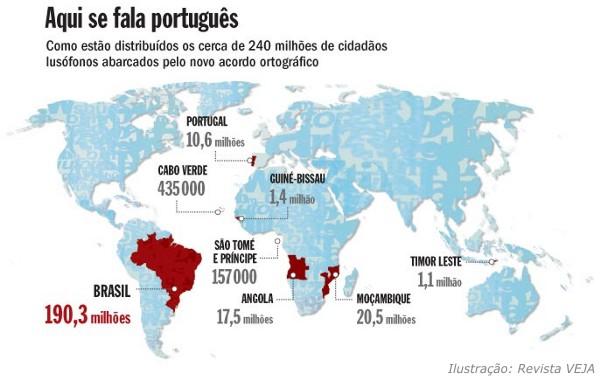 mapa países lusófonos Uma Academia das Academias lusófonas para a língua portuguesa  mapa países lusófonos
