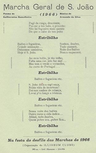 Nos santos populares (en)cante com poesia popular O nosso